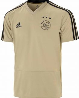 adidas Ajax Trainings Jersey Sportshirt performance - Maat 128 - Unisex - goud/zwart