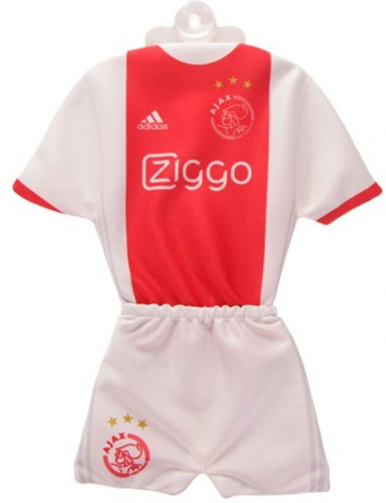 Ajax minikit home 2018/2019 - rood/wit