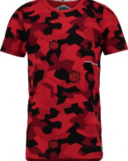Vingino Daley Blind Jongens T-shirt - Flame Red - Maat 110