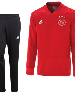 adidas Ajax Top Trainingspak 2018-2019 Kids Power Red