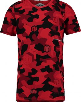 Vingino Daley Blind Jongens T-shirt - Flame Red - Maat 164