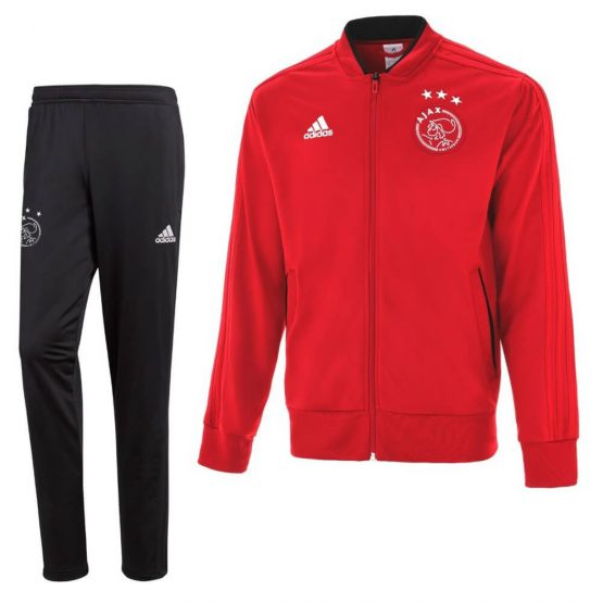 adidas Ajax Trainingspak 2018-2019 Power Red