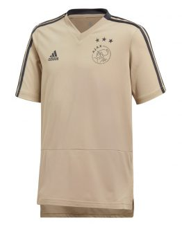 adidas Ajax Trainingsshirt 2018-2019 Kids Raw Gold Carbon