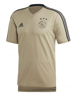 adidas Ajax Trainingsshirt 2018-2019 Raw Gold Carbon