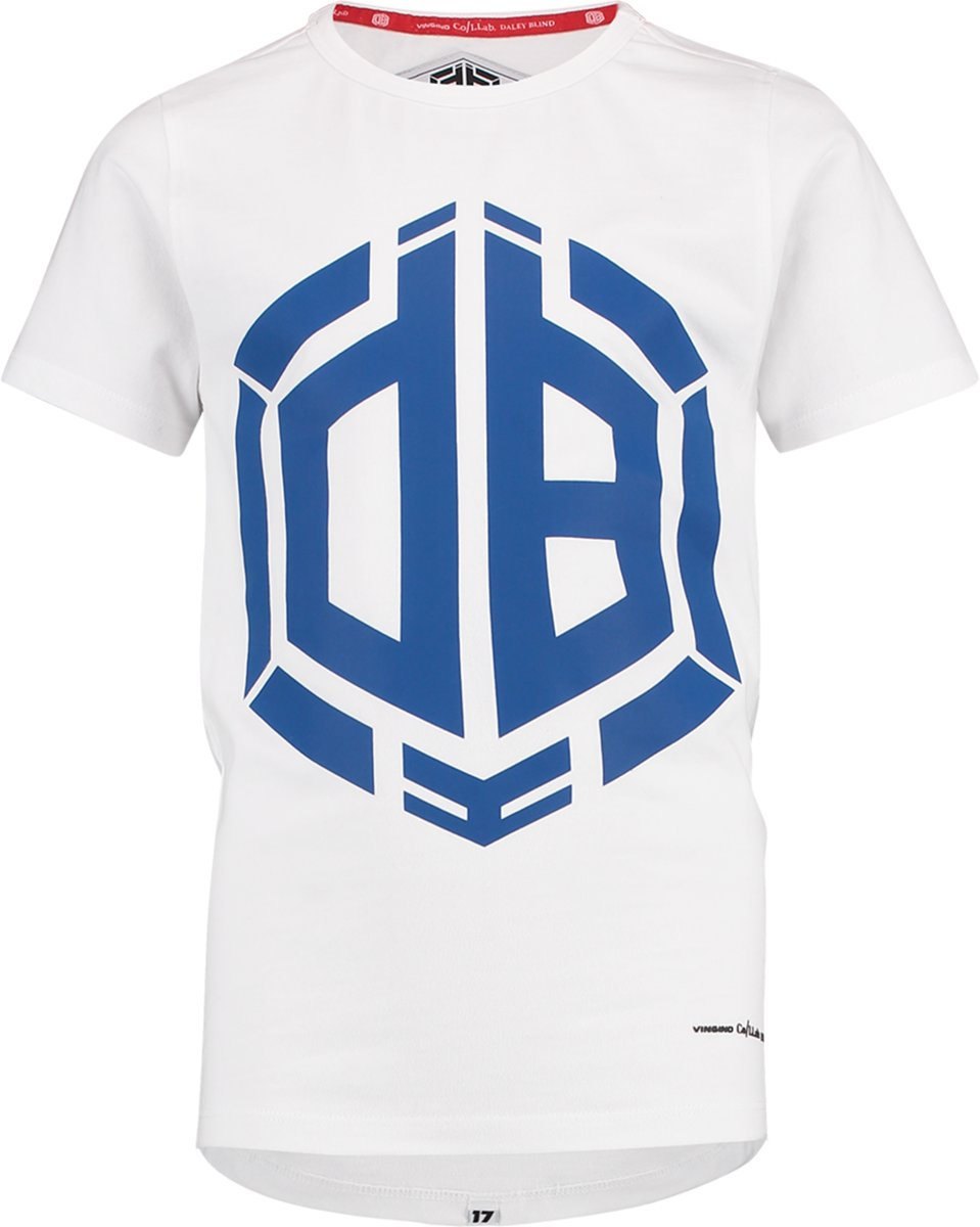 1c5955f6737f83 Vingino Jongens Daley Blind collectie T-shirt - Real White - Maat 152