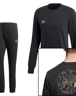adidas Ajax Sweat Trainingspak Oud logo Carbon