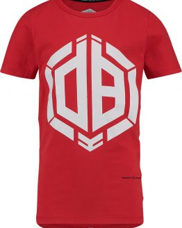 Vingino Daley Blind Jongens T-shirt - Flame Red - Maat 116