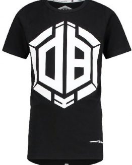Vingino Jongens T-shirt - Deep Black - Maat 110
