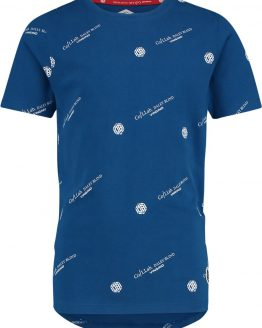 Vingino by Daley Blind T-Shirt Hayk - Kobaltblauw - Maat 128
