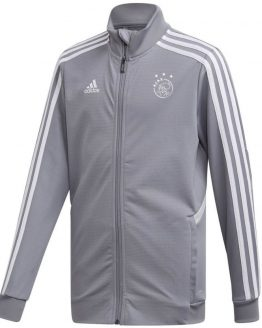 adidas Ajax Trainingsjack 2019-2020 Kids Grijs Wit