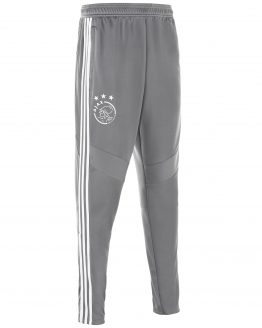 adidas Ajax Trainingsbroek 2019-2020 Kids Grijs Wit