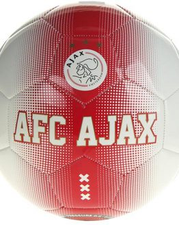 Ajax voetbal thuis wit/rood