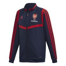 Arsenal Trainingsjas Presentation - Navy/Rood Kinderen