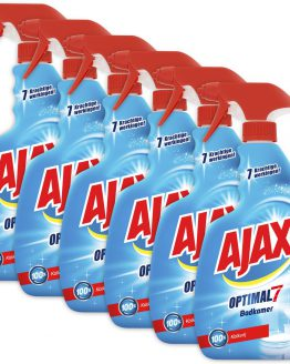 Ajax Optimal7 Badkamerspray 6 x 750ml