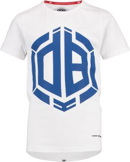 Vingino Jongens Daley Blind collectie T-shirt - Real White - Maat 170/176