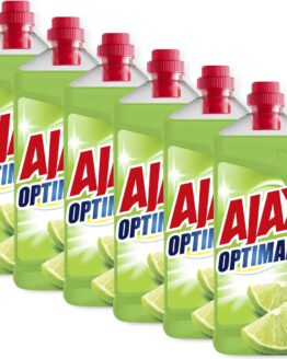 Ajax Optimal7 Limoen allesreiniger 6 x 1.25L