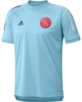 adidas Ajax Trainingsshirt 2020-2021 Kids Blauw
