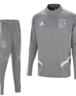 adidas Ajax Top Trainingspak 2019-2020 Grijs Wit