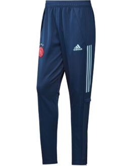 adidas Ajax Trainingsbroek 2020-2021 Blauw