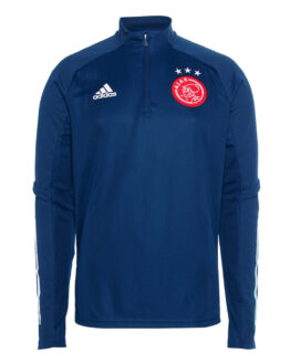 adidas Ajax Trainingstrui 2020-2021 Blauw